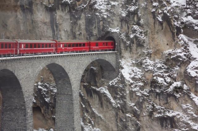Glacier Express - from Zermatt to St. Moritz